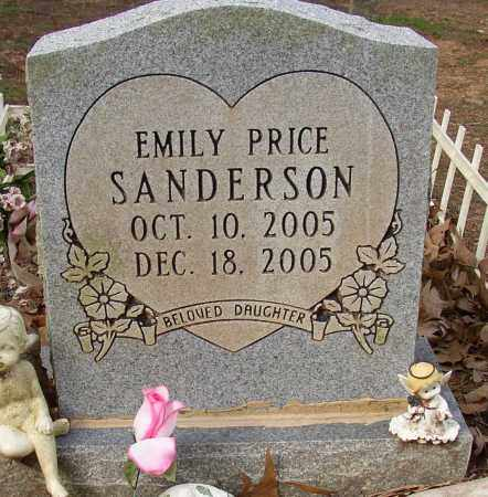 SANDERSON, EMILY PRICE - Lonoke County, Arkansas | EMILY PRICE SANDERSON - Arkansas Gravestone Photos