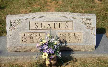 SCATES, BEATRICE E - Lonoke County, Arkansas | BEATRICE E SCATES - Arkansas Gravestone Photos