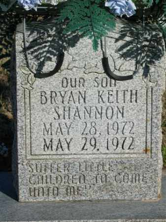 SHANNON, BRYAN KEITH - Lonoke County, Arkansas | BRYAN KEITH SHANNON - Arkansas Gravestone Photos