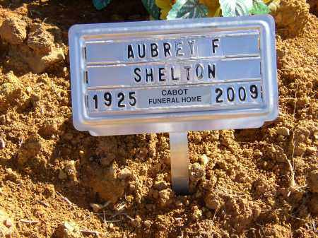 SHELTON, AUBREY F. - Lonoke County, Arkansas | AUBREY F. SHELTON - Arkansas Gravestone Photos