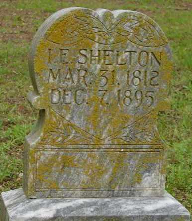 SHELTON, I. E. - Lonoke County, Arkansas | I. E. SHELTON - Arkansas Gravestone Photos