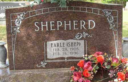 SHEPHERD, EARLE (SHEP) - Lonoke County, Arkansas | EARLE (SHEP) SHEPHERD - Arkansas Gravestone Photos