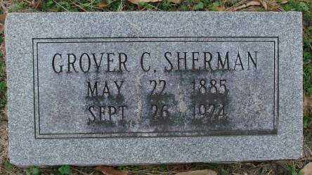 SHERMAN, GROVER C - Lonoke County, Arkansas | GROVER C SHERMAN - Arkansas Gravestone Photos