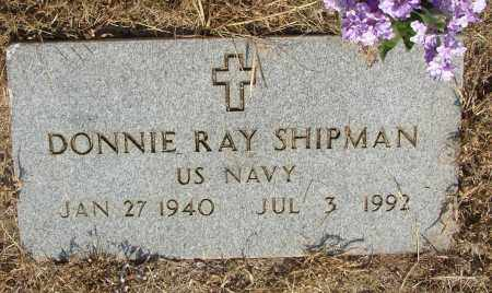 SHIPMAN (VETERAN), DONNIE RAY - Lonoke County, Arkansas | DONNIE RAY SHIPMAN (VETERAN) - Arkansas Gravestone Photos
