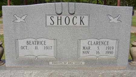 SHOCK, CLARENCE - Lonoke County, Arkansas | CLARENCE SHOCK - Arkansas Gravestone Photos