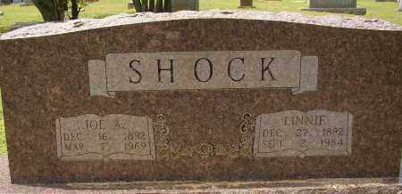 SHOCK, LINNIE - Lonoke County, Arkansas | LINNIE SHOCK - Arkansas Gravestone Photos