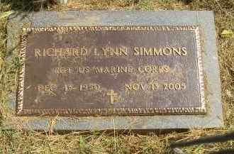 SIMMONS, RICHARD LYNN - Lonoke County, Arkansas | RICHARD LYNN SIMMONS - Arkansas Gravestone Photos