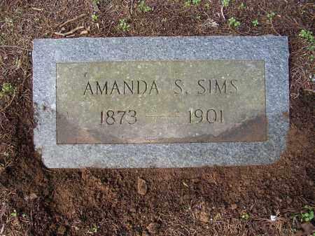 SIMS, AMANDA S. - Lonoke County, Arkansas | AMANDA S. SIMS - Arkansas Gravestone Photos