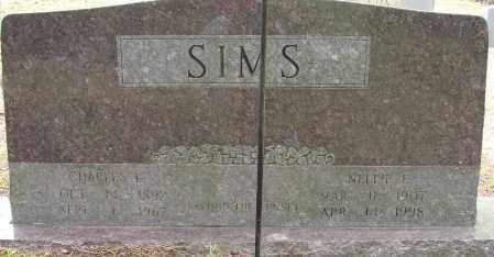 SIMS, NELLIE E. - Lonoke County, Arkansas | NELLIE E. SIMS - Arkansas Gravestone Photos