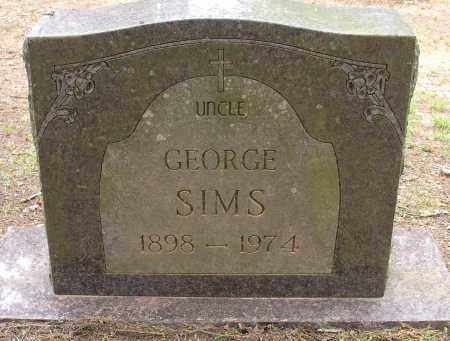 SIMS, GEORGE - Lonoke County, Arkansas | GEORGE SIMS - Arkansas Gravestone Photos