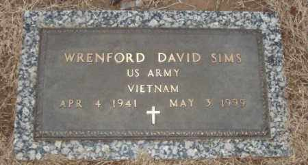 SIMS (VETERAN VIET), WRENFORD DAVID - Lonoke County, Arkansas | WRENFORD DAVID SIMS (VETERAN VIET) - Arkansas Gravestone Photos
