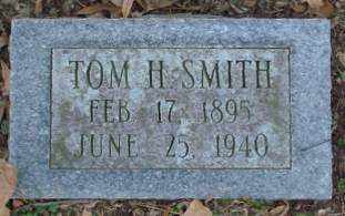 SMITH, TOM H - Lonoke County, Arkansas | TOM H SMITH - Arkansas Gravestone Photos