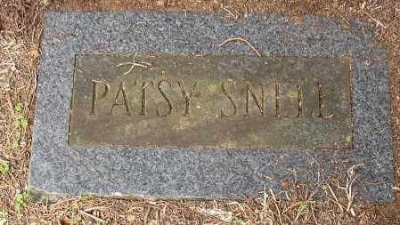 SNELL, PATSY - Lonoke County, Arkansas | PATSY SNELL - Arkansas Gravestone Photos