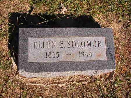 SOLOMON, ELLEN E - Lonoke County, Arkansas | ELLEN E SOLOMON - Arkansas Gravestone Photos