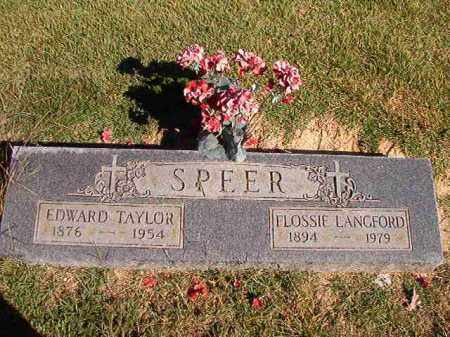 LANGFORD SPEER, FLOSSIE - Lonoke County, Arkansas | FLOSSIE LANGFORD SPEER - Arkansas Gravestone Photos