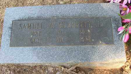 STARRETT, SAMUEL A. JR. - Lonoke County, Arkansas | SAMUEL A. JR. STARRETT - Arkansas Gravestone Photos