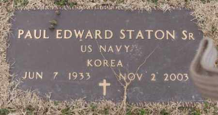 STATON, SR (VETERAN KOR), PAUL EDWARD - Lonoke County, Arkansas | PAUL EDWARD STATON, SR (VETERAN KOR) - Arkansas Gravestone Photos