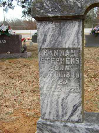 STEPHENS, HANNAH - Lonoke County, Arkansas | HANNAH STEPHENS - Arkansas Gravestone Photos