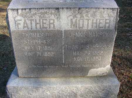 STEPHENS, JENNIE - Lonoke County, Arkansas | JENNIE STEPHENS - Arkansas Gravestone Photos