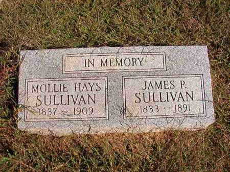 HAYS SULLIVAN, MOLLIE - Lonoke County, Arkansas | MOLLIE HAYS SULLIVAN - Arkansas Gravestone Photos