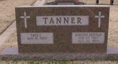BRITTAIN TANNER, DOROTHY - Lonoke County, Arkansas | DOROTHY BRITTAIN TANNER - Arkansas Gravestone Photos