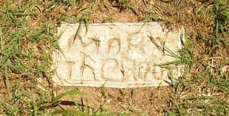 THEROW, MARY - Lonoke County, Arkansas   MARY THEROW - Arkansas Gravestone Photos