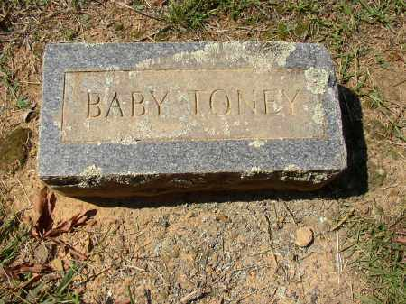 TONEY, BABY - Lonoke County, Arkansas | BABY TONEY - Arkansas Gravestone Photos