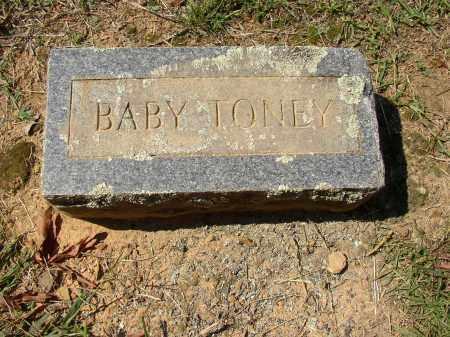 TONEY, BABY - Lonoke County, Arkansas   BABY TONEY - Arkansas Gravestone Photos