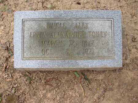 TONEY, ERVIN ALEXANDER - Lonoke County, Arkansas | ERVIN ALEXANDER TONEY - Arkansas Gravestone Photos