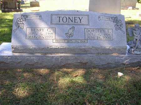TONEY, HENRY C. - Lonoke County, Arkansas | HENRY C. TONEY - Arkansas Gravestone Photos
