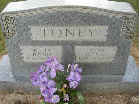 TONEY, JENNIE - Lonoke County, Arkansas | JENNIE TONEY - Arkansas Gravestone Photos