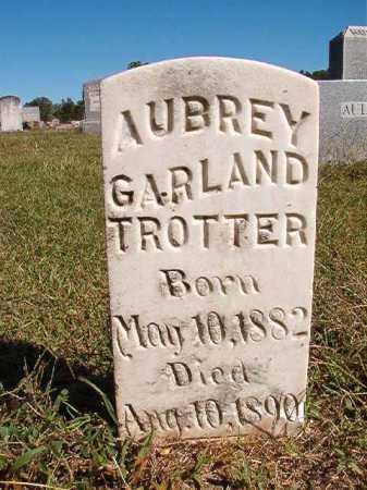 TROTTER, AUBREY GARLAND - Lonoke County, Arkansas | AUBREY GARLAND TROTTER - Arkansas Gravestone Photos