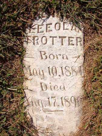 TROTTER, JENNIE LEEOLA - Lonoke County, Arkansas | JENNIE LEEOLA TROTTER - Arkansas Gravestone Photos