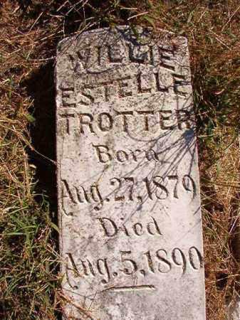 TROTTER, WILLIE ESTELLE - Lonoke County, Arkansas | WILLIE ESTELLE TROTTER - Arkansas Gravestone Photos