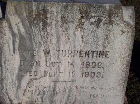 TURRENTINE (VETERAN CSA), CHARLES W - Lonoke County, Arkansas | CHARLES W TURRENTINE (VETERAN CSA) - Arkansas Gravestone Photos