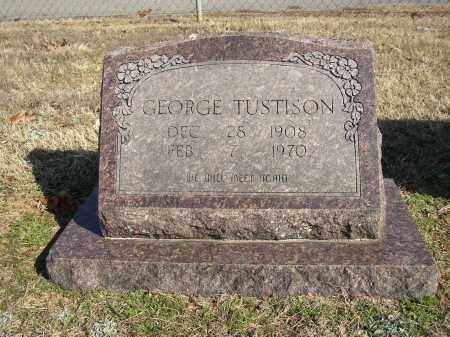 TUSTISON, GEORGE - Lonoke County, Arkansas | GEORGE TUSTISON - Arkansas Gravestone Photos