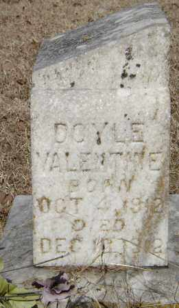 VALENTINE, DOYLE - Lonoke County, Arkansas | DOYLE VALENTINE - Arkansas Gravestone Photos