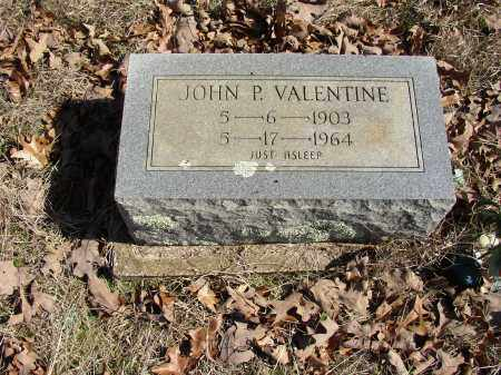 VALENTINE, JOHN P. - Lonoke County, Arkansas | JOHN P. VALENTINE - Arkansas Gravestone Photos