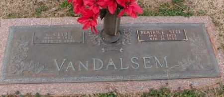VANDALSEM, C.CLYDE - Lonoke County, Arkansas | C.CLYDE VANDALSEM - Arkansas Gravestone Photos
