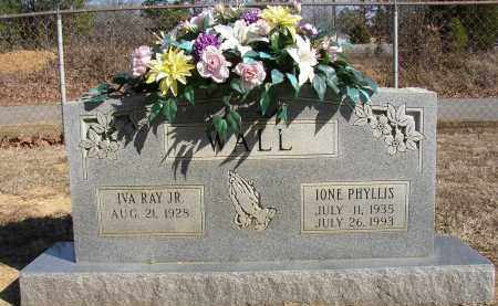 WALL, IONE PHYLLIS - Lonoke County, Arkansas | IONE PHYLLIS WALL - Arkansas Gravestone Photos