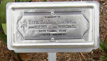 WALLER, VERA BEATRICE - Lonoke County, Arkansas | VERA BEATRICE WALLER - Arkansas Gravestone Photos