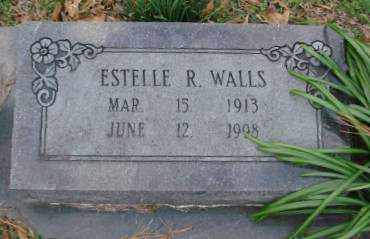 WALLS, ESTELLE R - Lonoke County, Arkansas | ESTELLE R WALLS - Arkansas Gravestone Photos