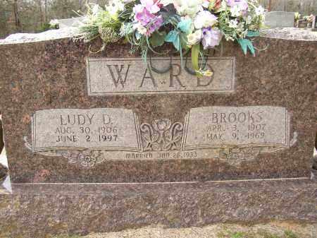 WARD, BROOKS - Lonoke County, Arkansas | BROOKS WARD - Arkansas Gravestone Photos