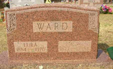 WARD, LURA - Lonoke County, Arkansas | LURA WARD - Arkansas Gravestone Photos