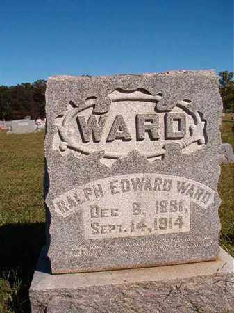 WARD, RALPH EDWARD - Lonoke County, Arkansas   RALPH EDWARD WARD - Arkansas Gravestone Photos