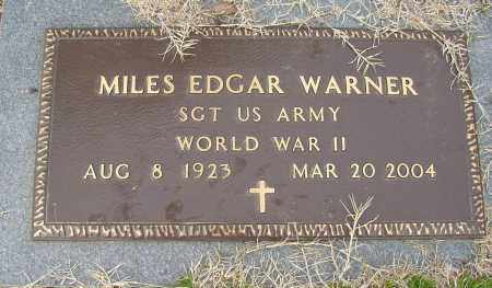 WARNER (VETERAN WWII), MILES EDGAR - Lonoke County, Arkansas | MILES EDGAR WARNER (VETERAN WWII) - Arkansas Gravestone Photos