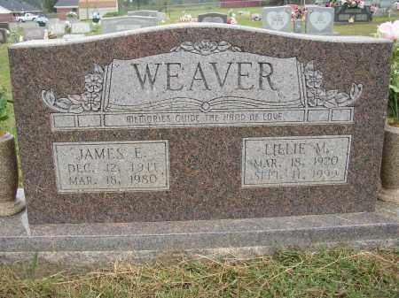 WEAVER, JAMES E. - Lonoke County, Arkansas | JAMES E. WEAVER - Arkansas Gravestone Photos