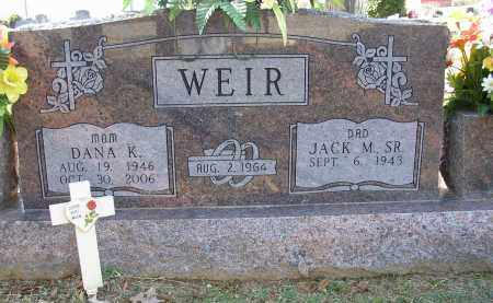 WEIR, DANA K. - Lonoke County, Arkansas | DANA K. WEIR - Arkansas Gravestone Photos