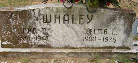 WHALEY, JOHN M - Lonoke County, Arkansas | JOHN M WHALEY - Arkansas Gravestone Photos