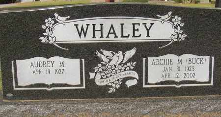 WHALEY (VETERAN WWII), ARCHIE M. - Lonoke County, Arkansas | ARCHIE M. WHALEY (VETERAN WWII) - Arkansas Gravestone Photos